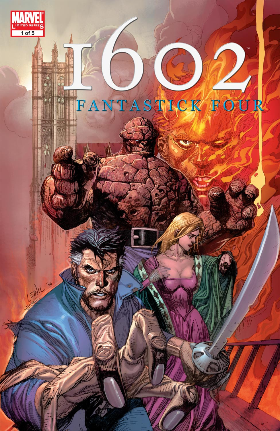 Marvel 1602: Fantastick Four Vol 1 1