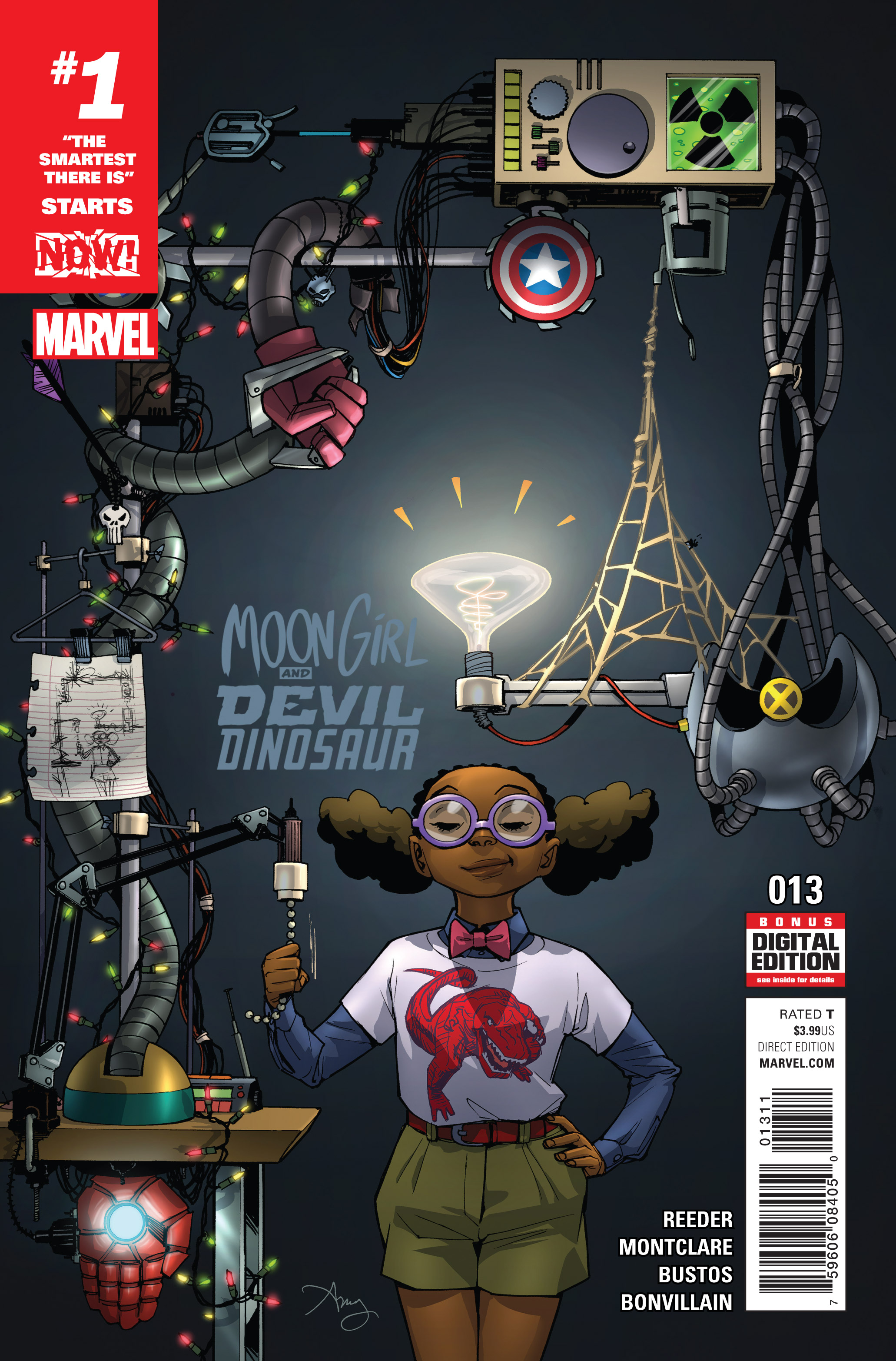 Moon Girl and Devil Dinosaur Vol 1 13