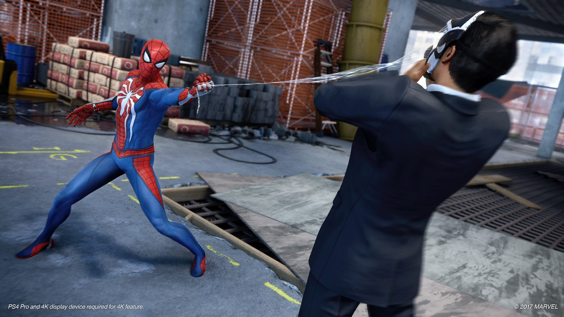 Peter Parker (Earth-1048) and Demons (Earth-1048) from Marvel's Spider-Man (video game) 0001.jpg