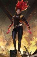 Phoenix Resurrection The Return of Jean Grey Vol 1 5 Jean Grey Variant Textless
