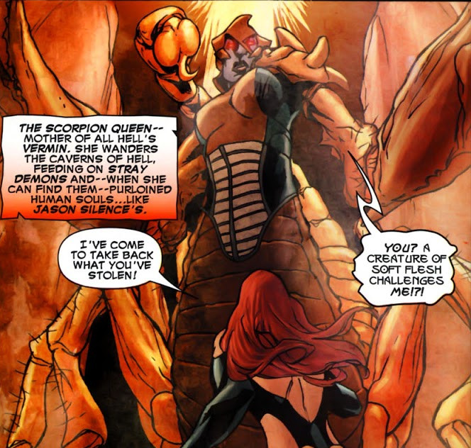 Scorpion Queen (Earth-616)