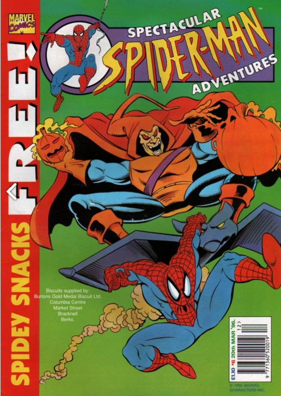 Spectacular Spider-Man (UK) Vol 1 6