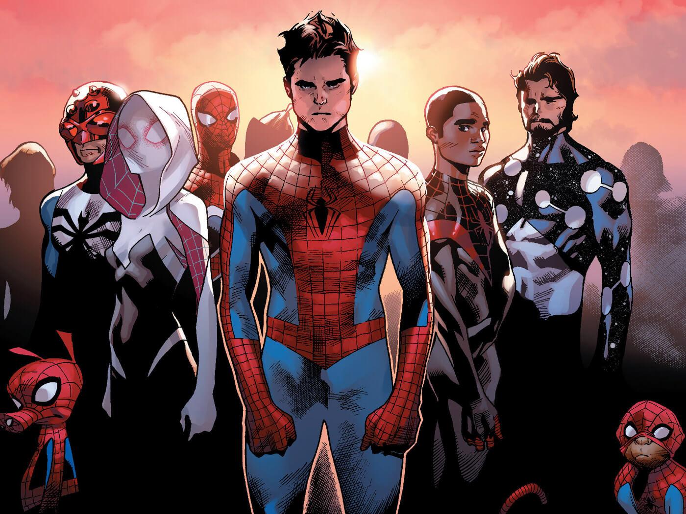 Spider-Army (Multiverse) from Amazing Spider-Man Vol 3 11 001.jpg