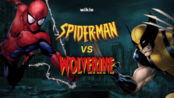 Spiderman v Wolverine Cover.png