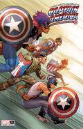 United States of Captain America Vol 1 5 Yu Variant
