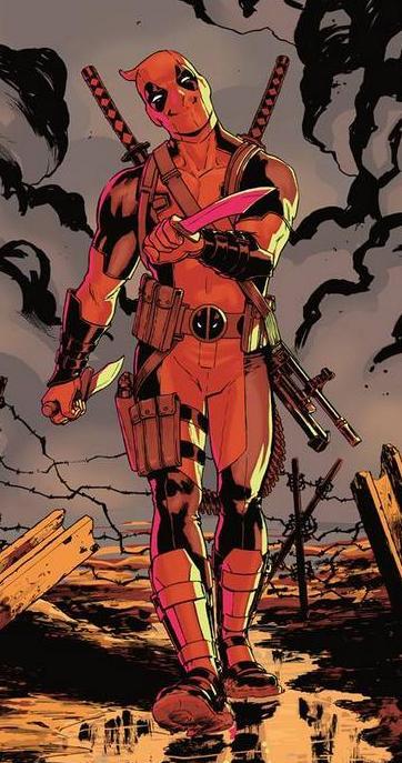 Deadpool's Suit