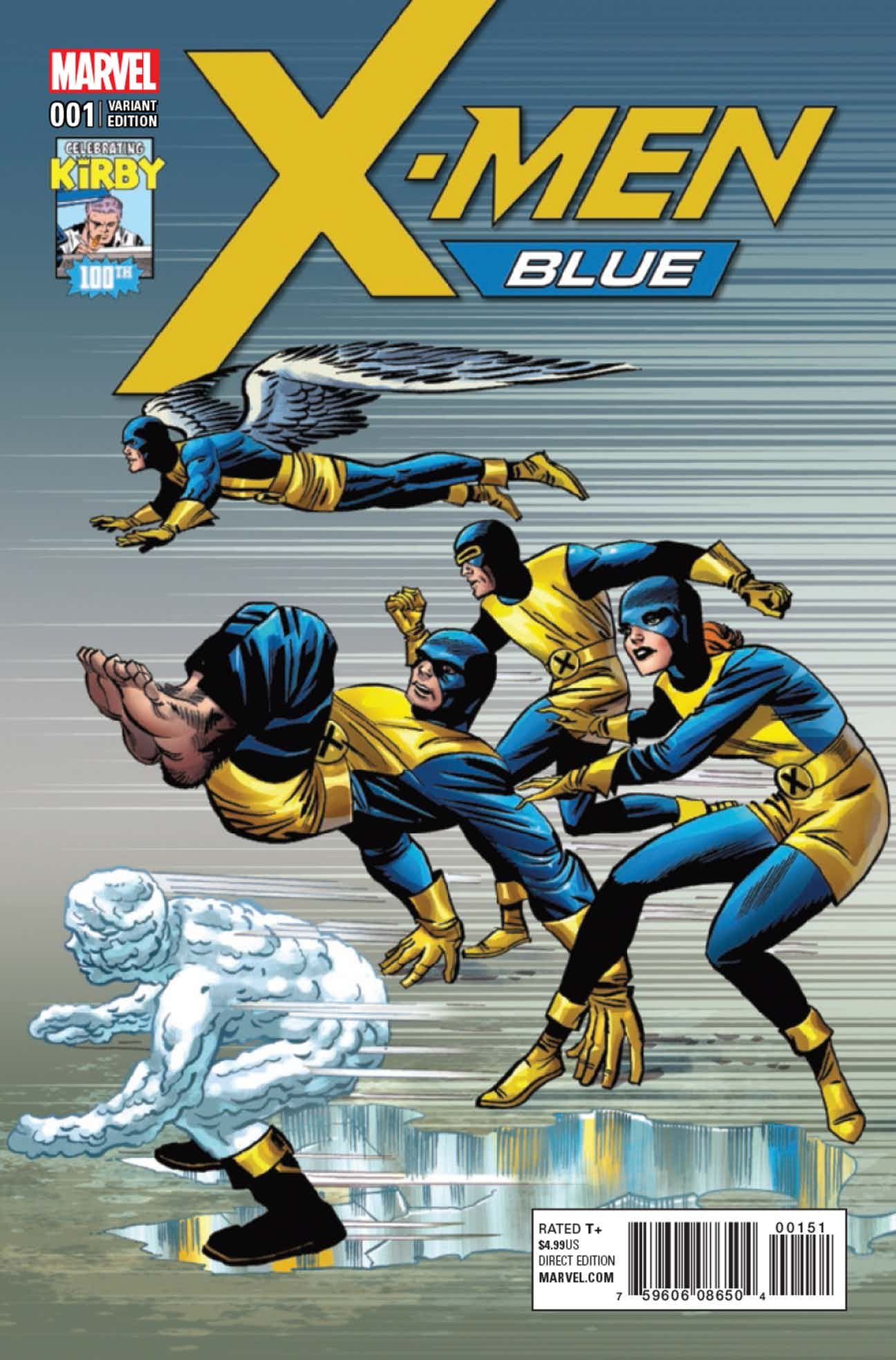 X-Men Blue Vol 1 1 Kirby 100th Anniversary Variant.jpg