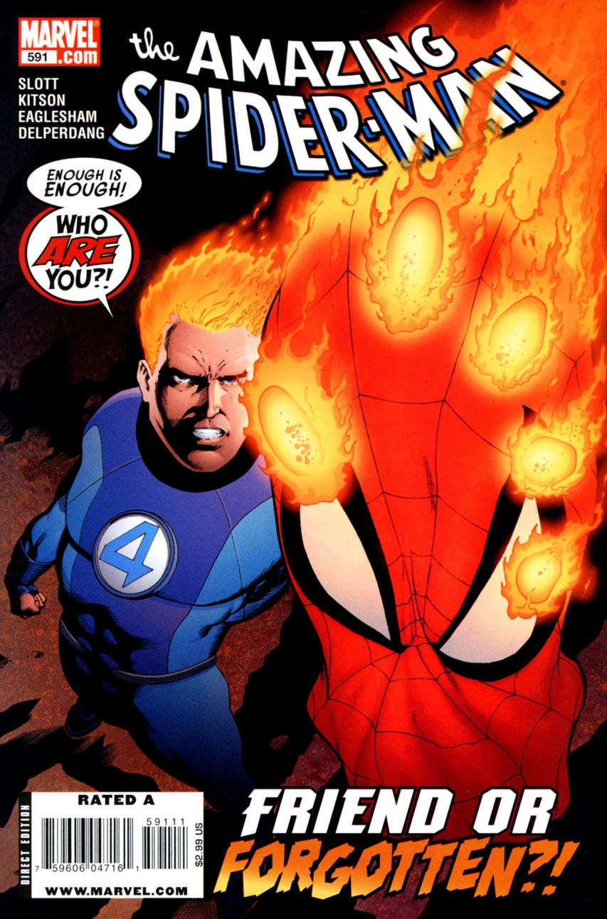 Amazing Spider-Man Vol 1 591