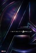 Avengers Infinity War poster 001