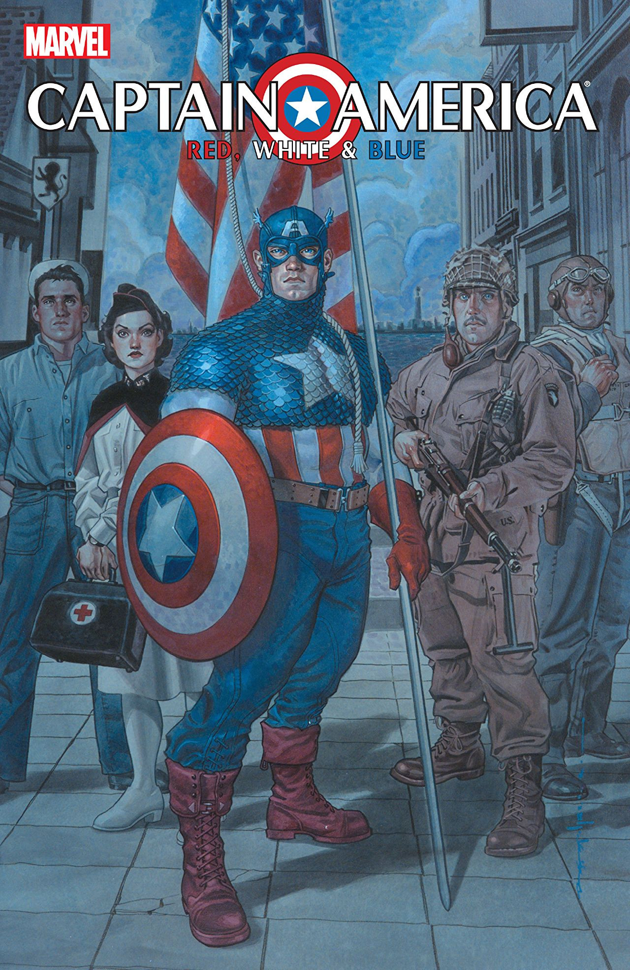 Captain America: Red, White & Blue Vol 1 1