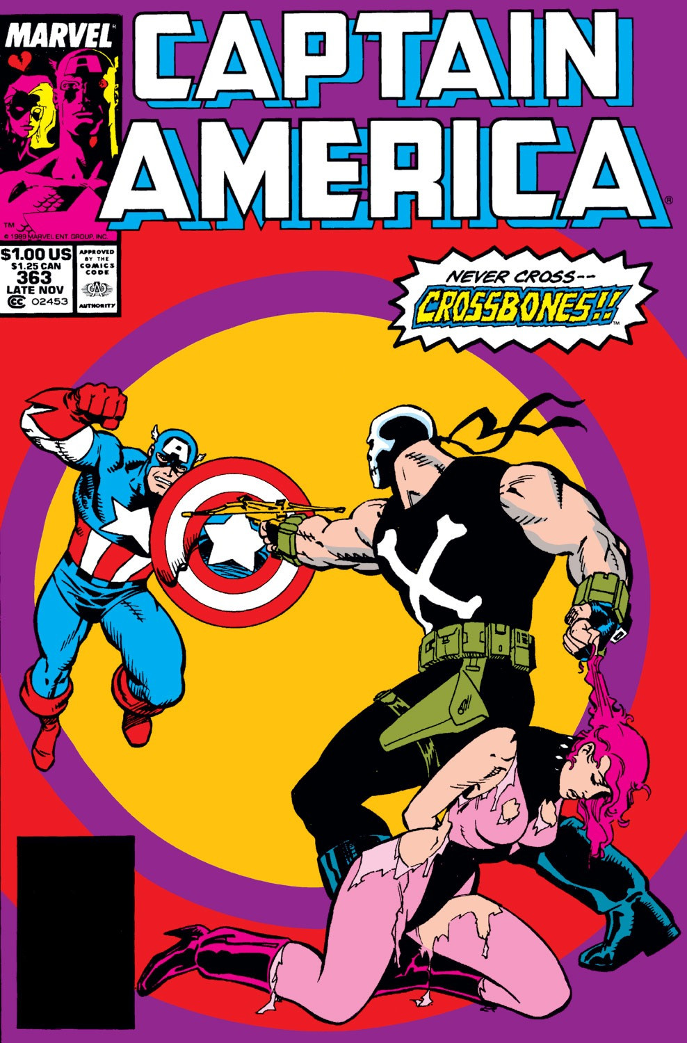 Captain America Vol 1 363
