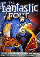 Fantastic Four (1967 animated series) Season 1 Home Video Cover 0002