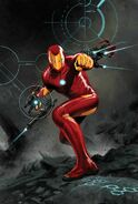 Invincible Iron Man Vol 3 3 Epting Variant Textless