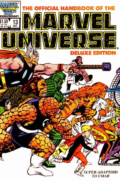 Official Handbook of the Marvel Universe Vol 2 13