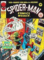 Spider-Man Comics Weekly Vol 1 121