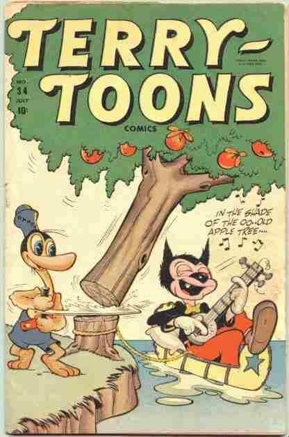 Terry-Toons Comics Vol 1 34