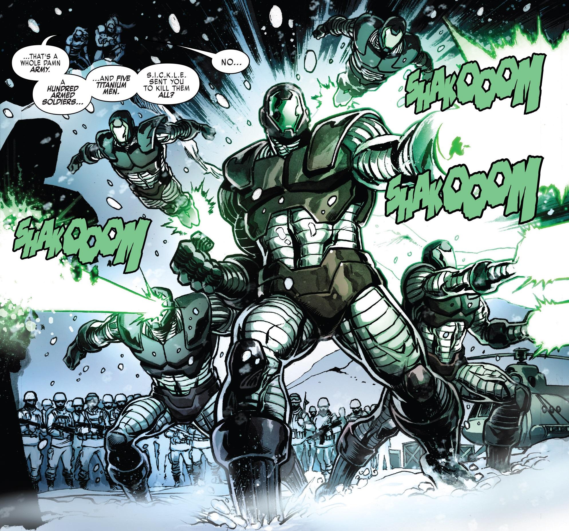 Titanium Man Mutant-Defense Project (Earth-616)/Gallery
