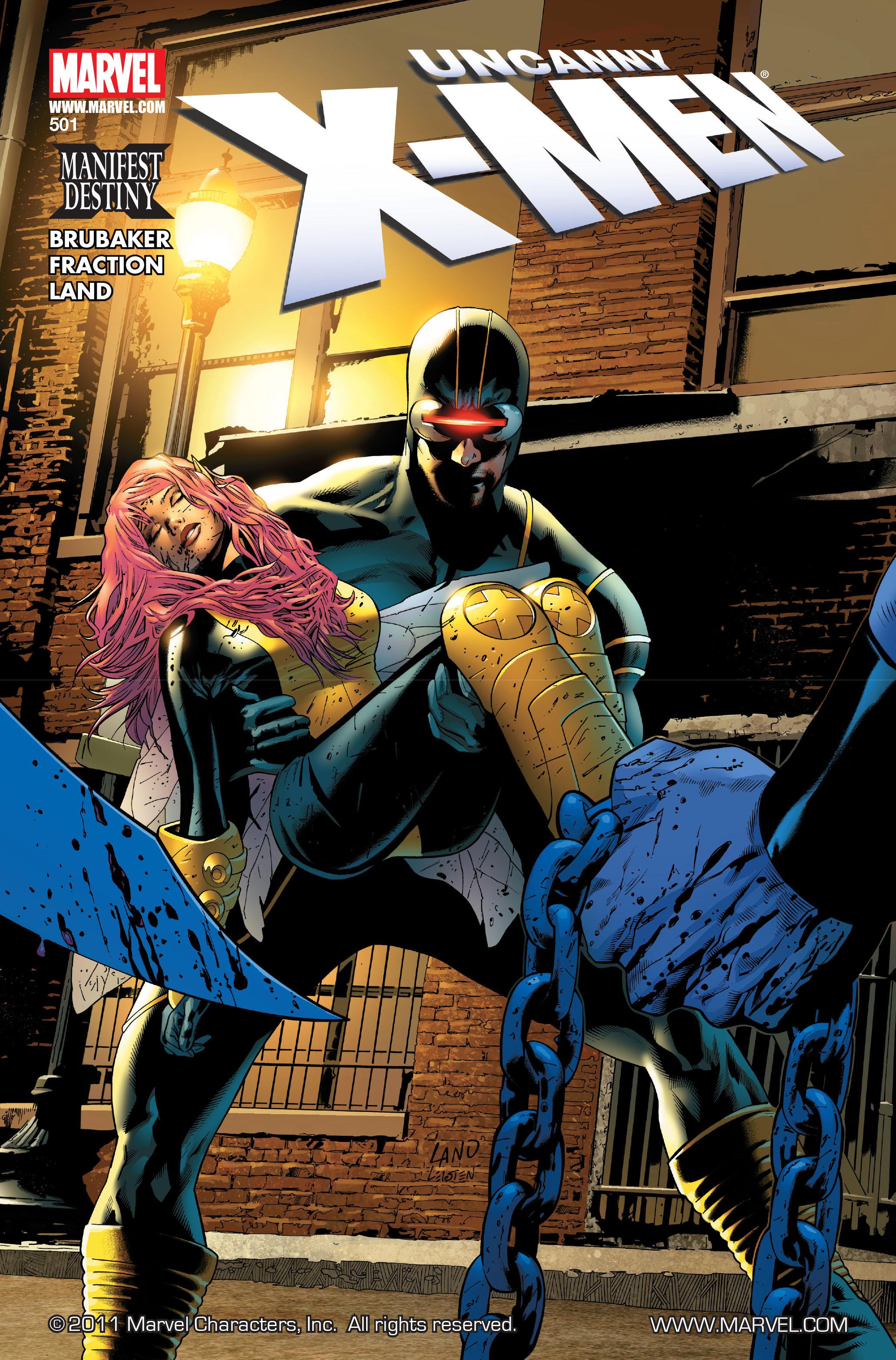 Uncanny X-Men Vol 1 501