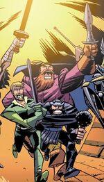 Warriors Three (Earth-717)
