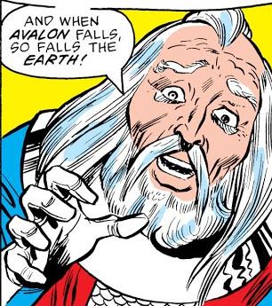 Amergin Glúingel (Earth-616)