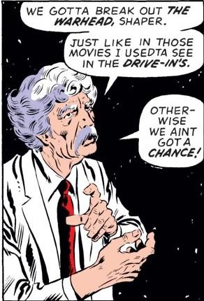 Andrew Johnson (Slugger) (Earth-616) as the Brain from Fantastic Four Vol 1 137.jpg
