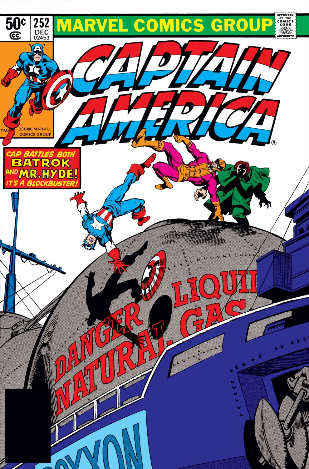 Captain America Vol 1 252
