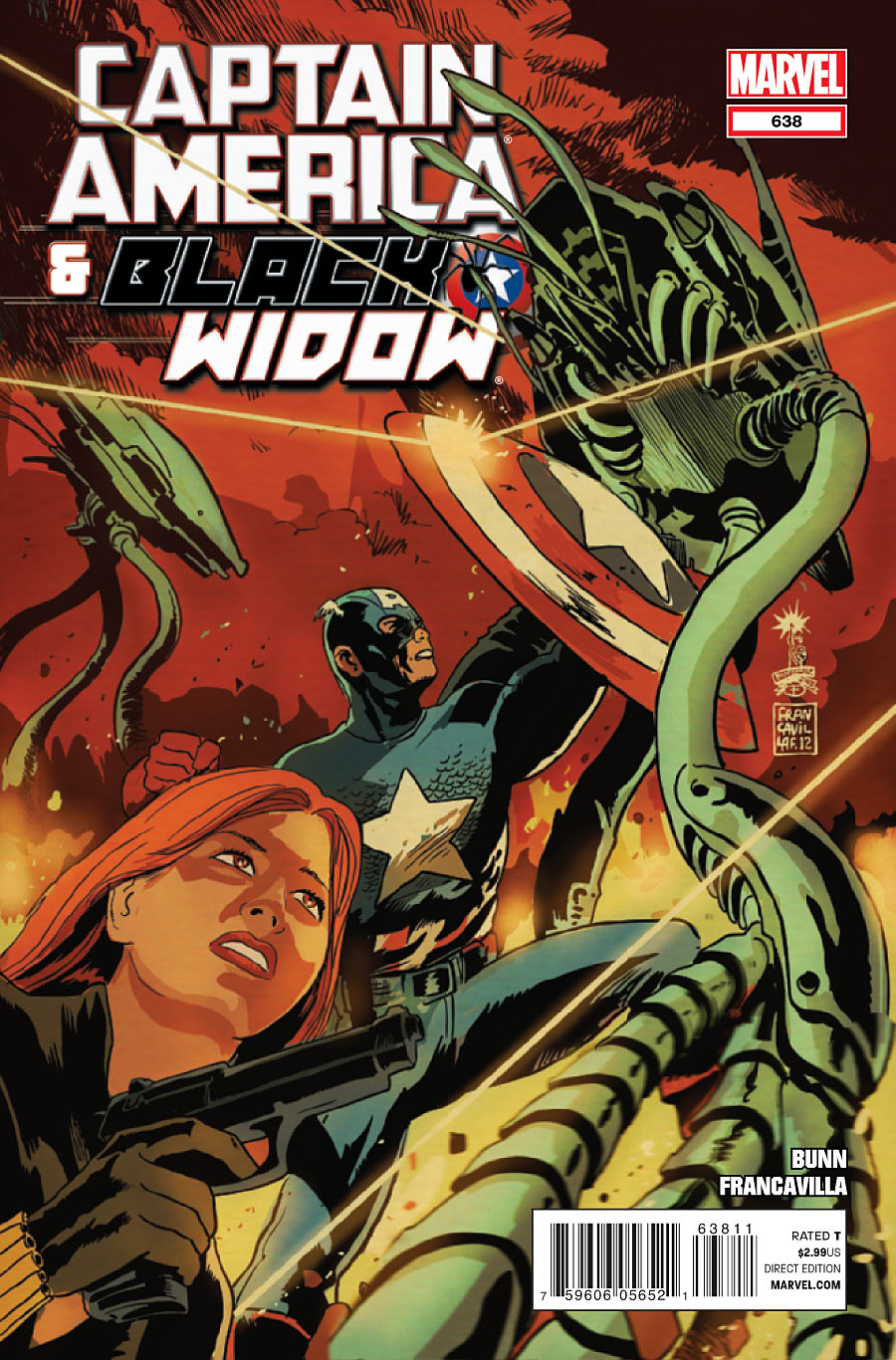 Captain America and Black Widow Vol 1 638