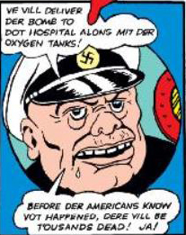 Captain von Spitz (Earth-616)