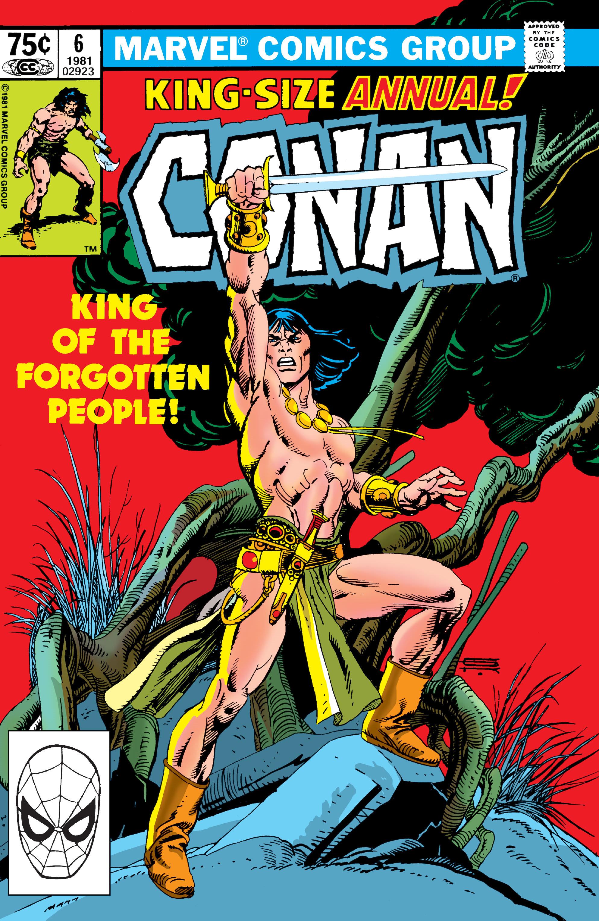 Conan the Barbarian Annual Vol 1 6