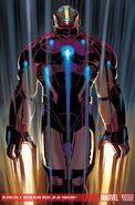 Invincible Iron Man Vol 1 500 Romita Variant Textless