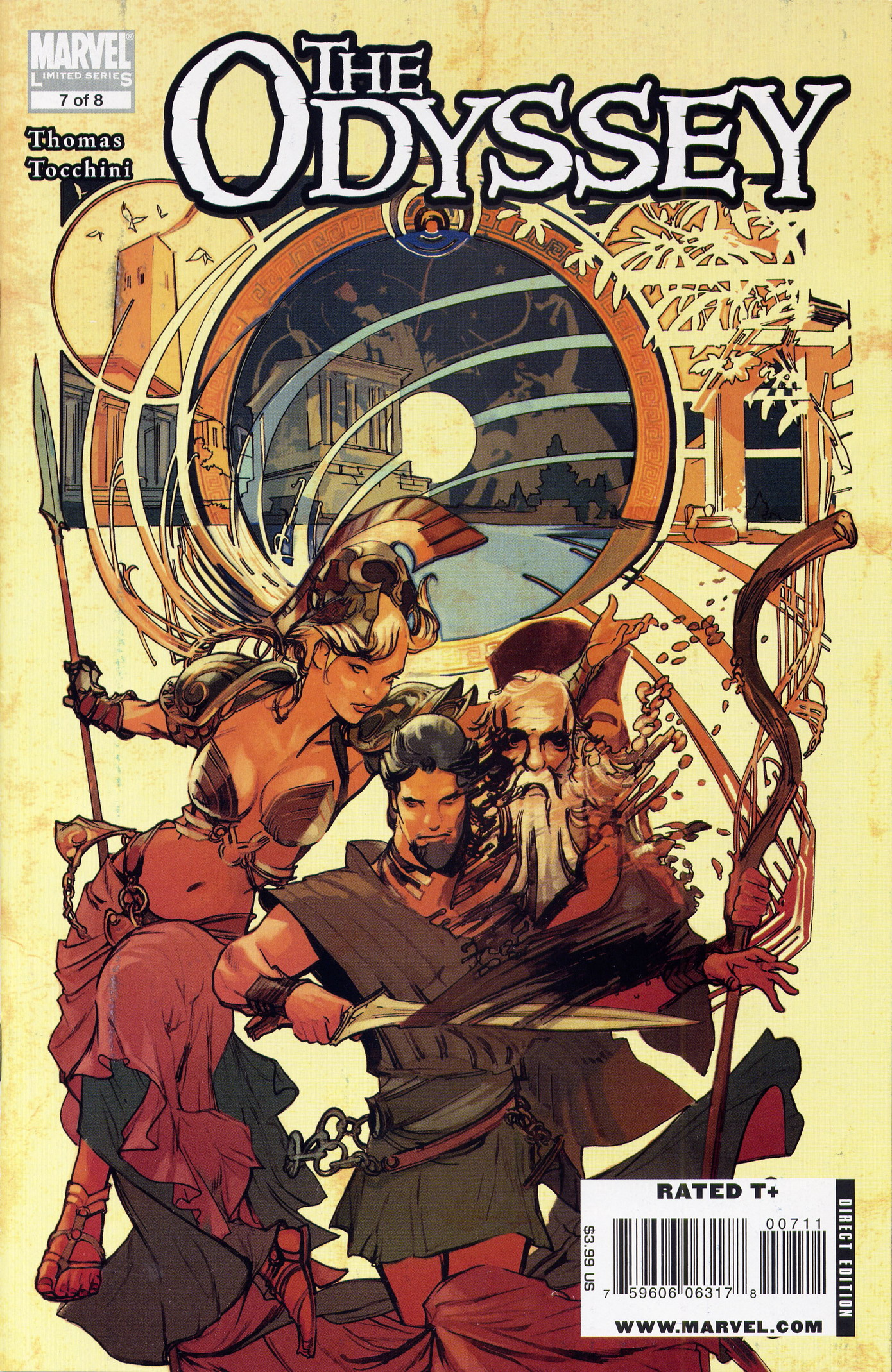 Marvel Illustrated: The Odyssey Vol 1 7