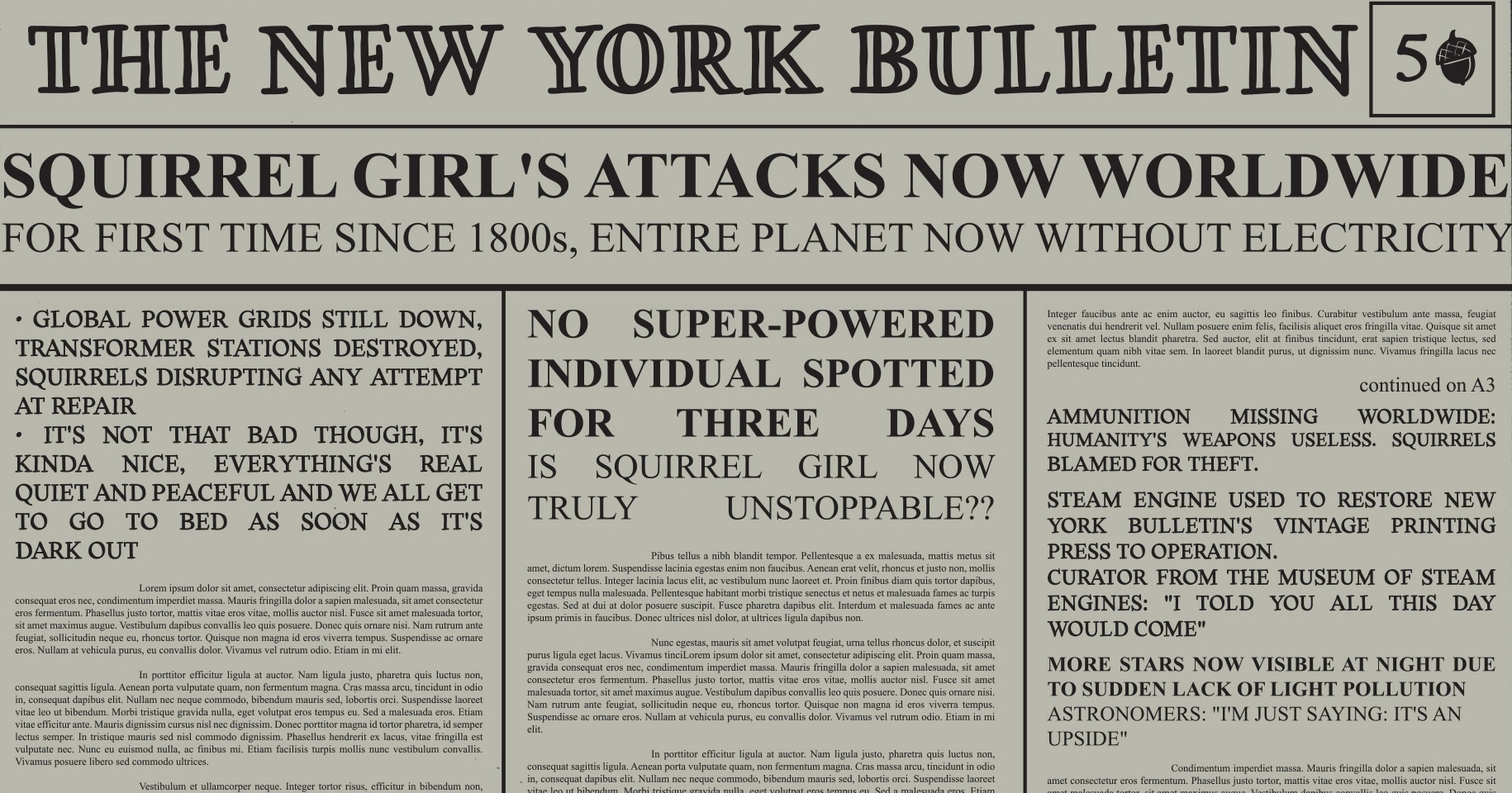 New York Bulletin (Earth-616)