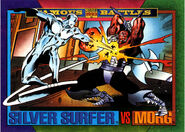 Norrin Radd (Earth-616) and Morg (Earth-616) from Marvel Universe Cards Series IV 0001