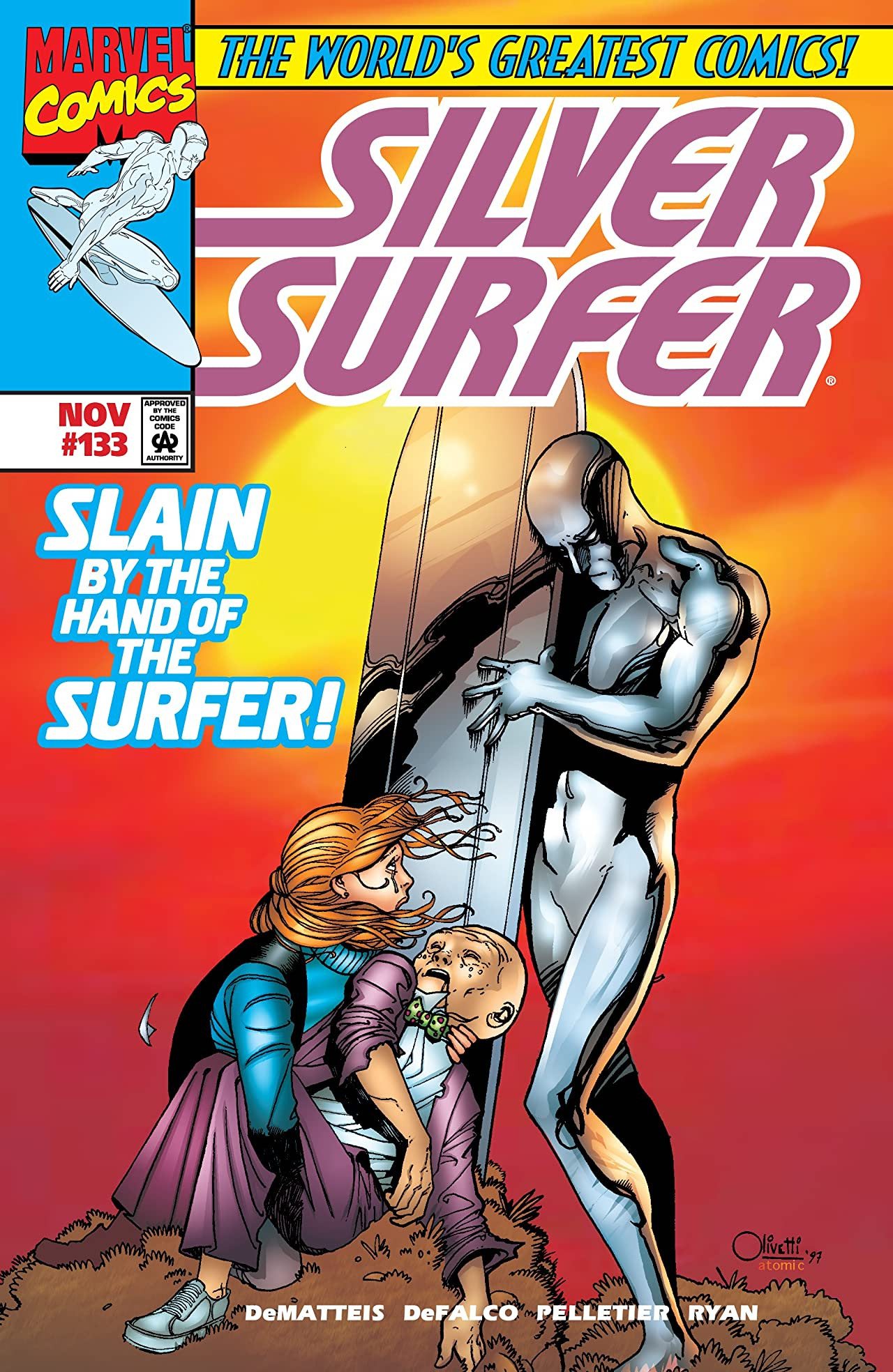 Silver Surfer Vol 3 133