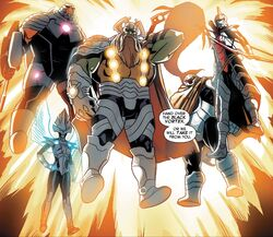 Slaughter Lords (Earth-616) from Guardians of the Galaxy & X-Men Black Vortex Alpha Vol 1 1 001.jpg