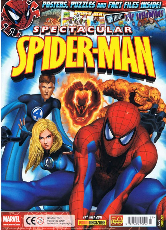 Spectacular Spider-Man (UK) Vol 1 223