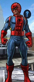 Spider-Jameson, the Super Astronaut from Spider-Man Unlimited (Video Game) 0001.jpg