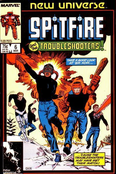 Spitfire and the Troubleshooters Vol 1 6
