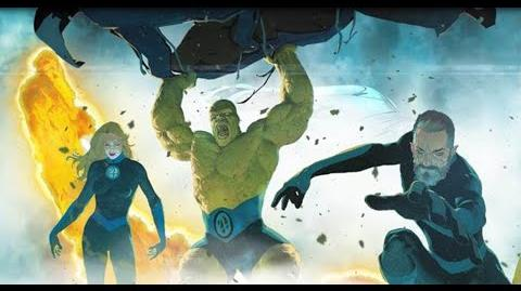 THE RETURN OF THE FANTASTIC FOUR – Fantastic Four 1 Launch Trailer