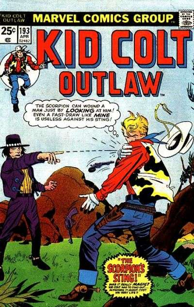 Kid Colt Outlaw Vol 1 193