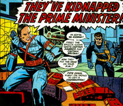 Lancelot Hunter (Earth-616) and Nicholas Fury (Earth-616) from Captain Britain Vol 1 21 001.png