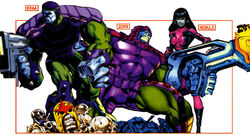 Luphomoids from All-New Official Handbook of the Marvel Universe A to Z Vol 1 6 001.jpg