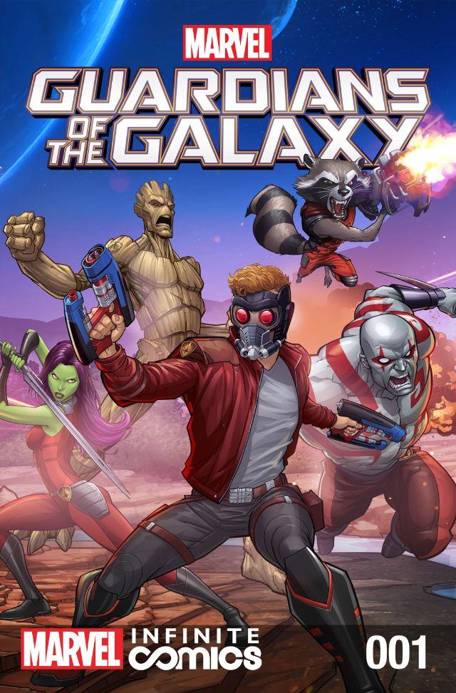 Marvel Universe Guardians of the Galaxy Infinite Comic Vol 1 1