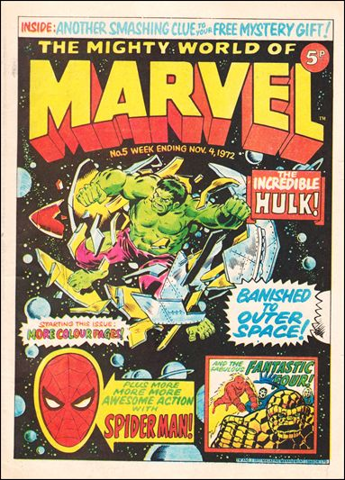 Mighty World of Marvel Vol 1 5