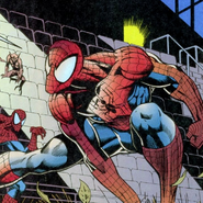 Peter Parker (Earth-616) Shea Stadium from Spider-Man Vol 1 51 0001