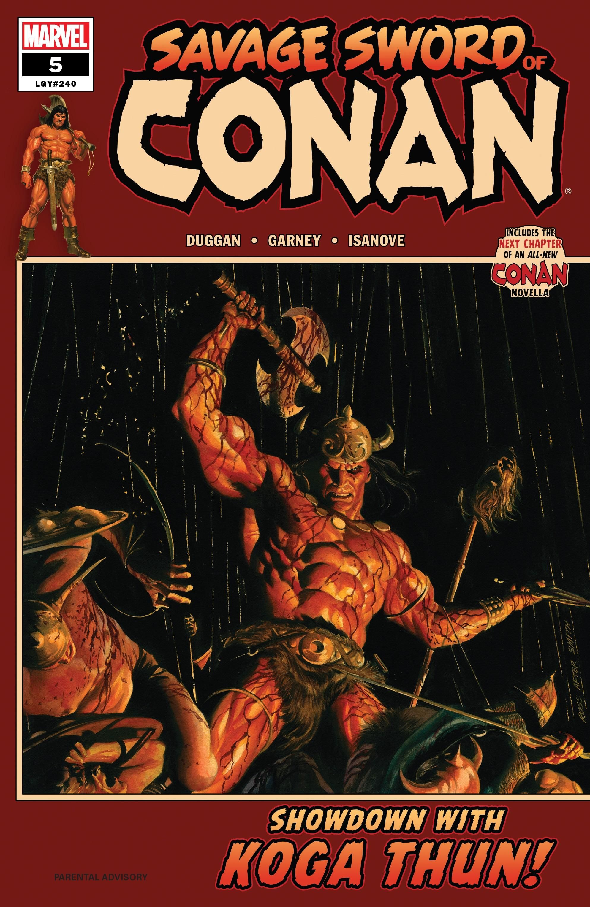 Savage Sword of Conan Vol 2 5