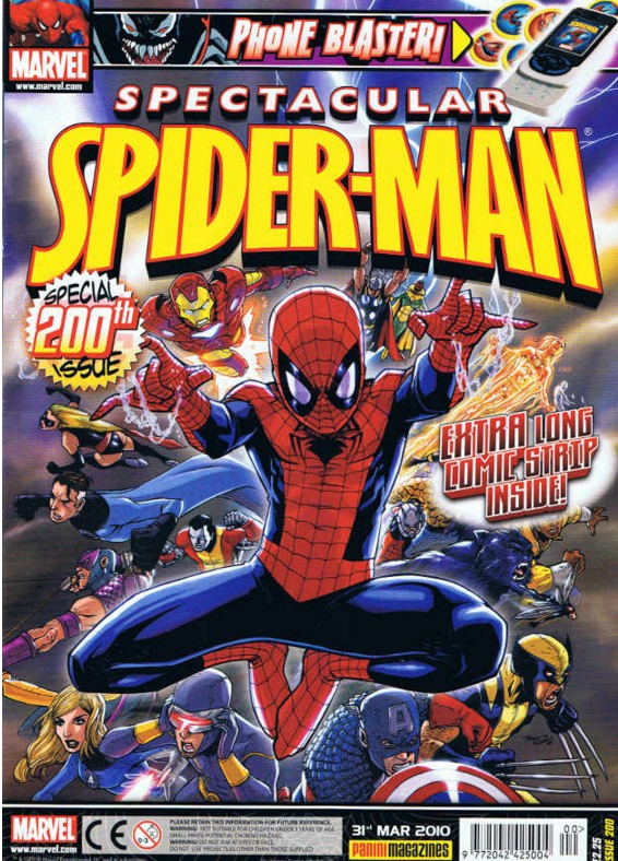 Spectacular Spider-Man (UK) Vol 1 200