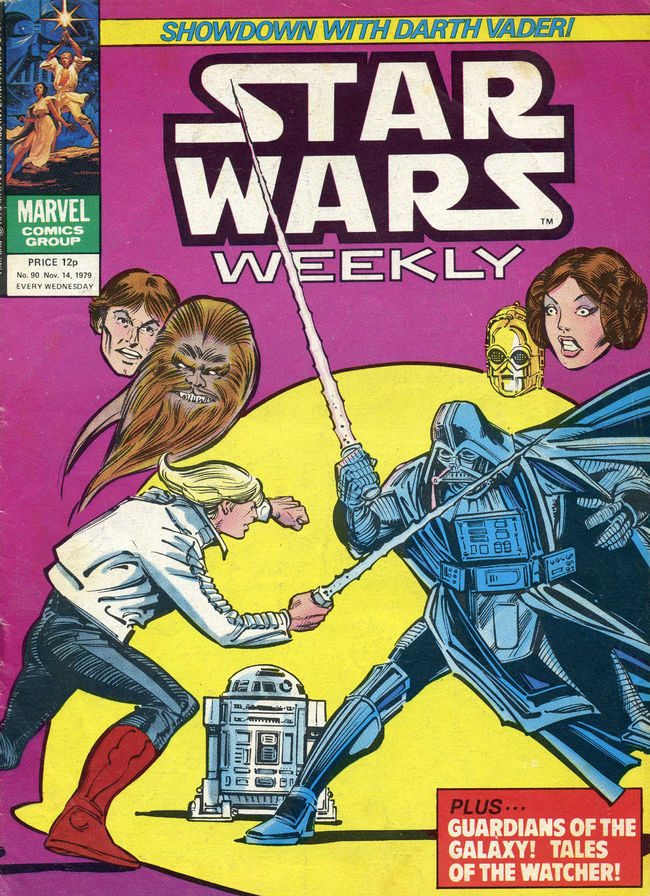 Star Wars Weekly (UK) Vol 1 90