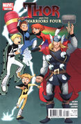 Thor and the Warriors Four Vol 1 1