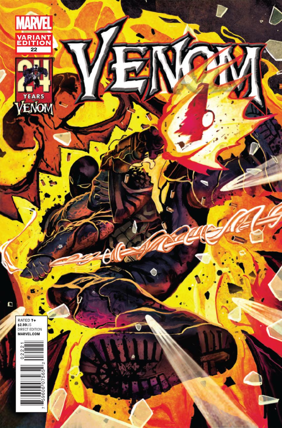 Venom Vol 2 22 Michael del Mundo Variant.jpg